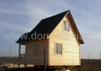 дачный дом 5х4м