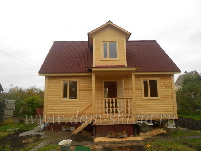 фото дома по проекту Владимир.
